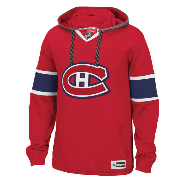 P�nsk� mikina s kapuc� Reebok Jersey NHL Montreal Canadiens