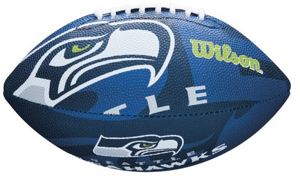 Míč Wilson NFL Team Logo FB Seattle Seahawks JR